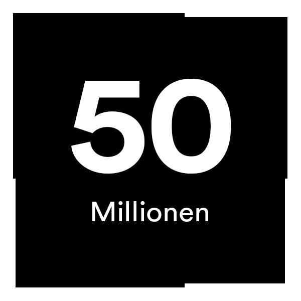 50 Millionen