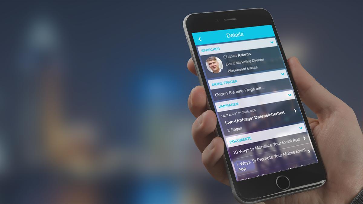 Mobile Apps für Konferenzen, Tagungen und Meetings
