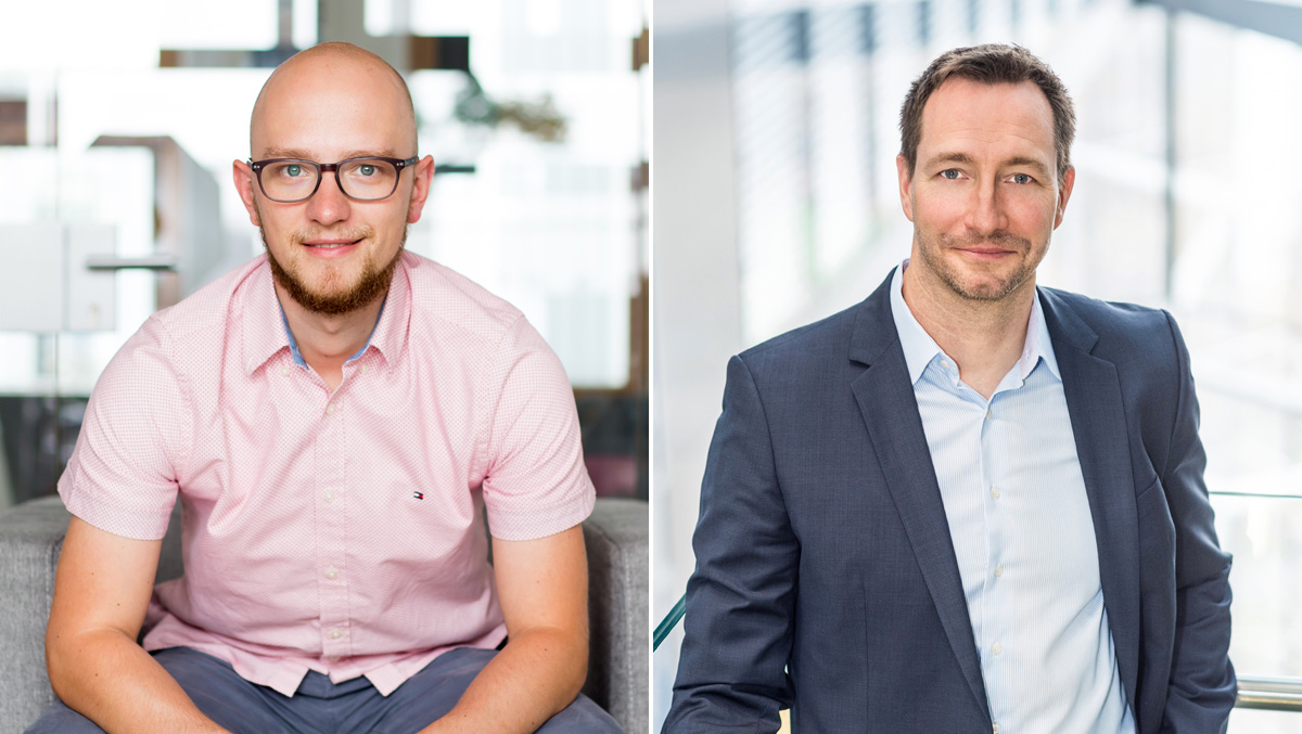 Christian Hain, Studienleiter und Geschäftsführer Collaborative Marketing Club, und Dirk Görtz, Vice President Dialogmarketing bei der Deutschen Post