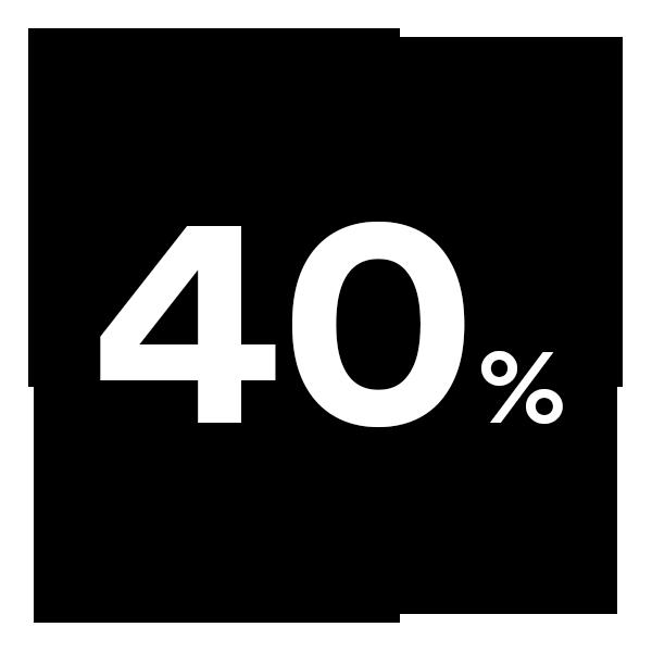 Vierzig Prozent