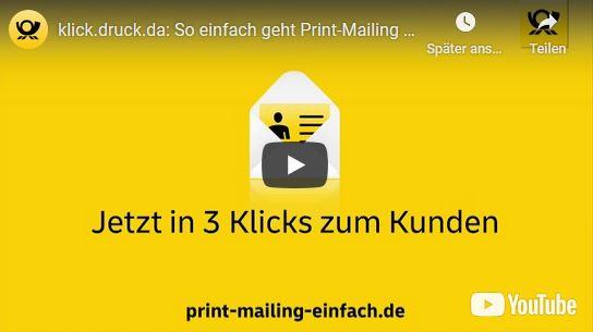 klick.druck.da: So einfach geht Print-Mailing heute Deutsche Post